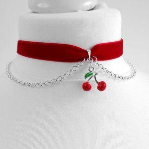 Jewelry - Adorable Cherry Choker